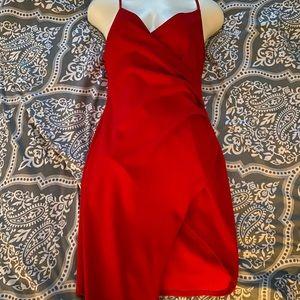 Windsor Red Bodycon Dress